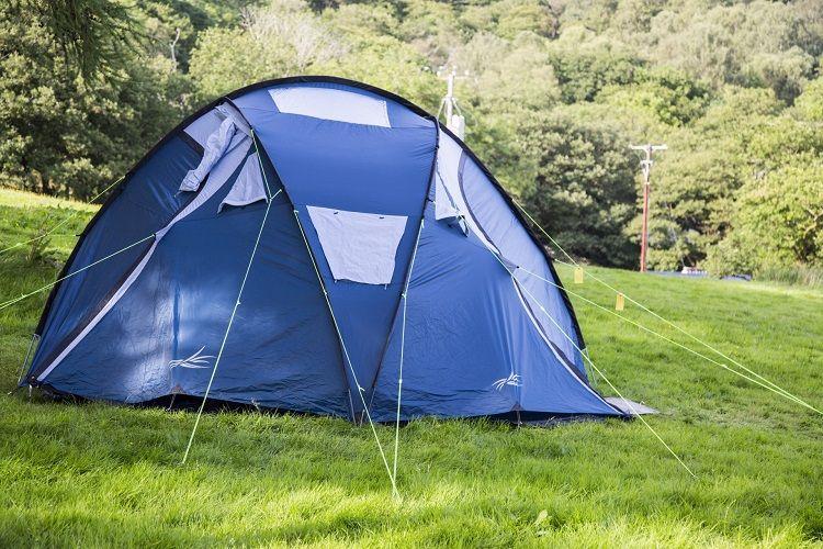 Namiot w przyczepie